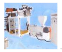 Pvc Thermal Shrinkage Blown Film Plant With Pillar Under Electric Lift Sj45x26 Sm700