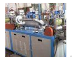Horizontal Plastic Film Blowing Machine With Tubular Electrical Heater