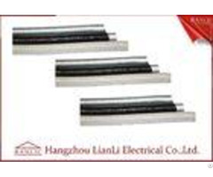 Grey Black Galvanized Steelflexible Electrical Conduit With Pvc Coated