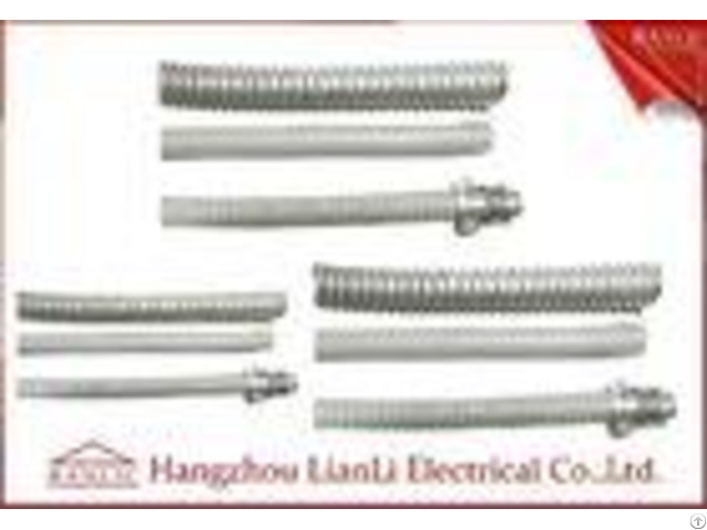 Heavy Duty High Temp Flexible Electrical Conduit Pvc Coated With 1 2