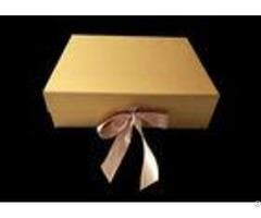 Golden Paper Folding Magnetic Packaging Gift Boxes Hard For Hair Wigs