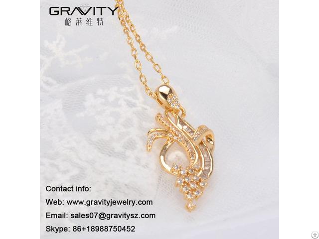Alibaba Wholesale Beatiful Gold Pendants Necklace Models