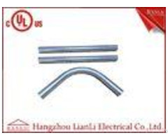 Ranlic Rigid Steel Emt Electrical Conduit For Industrial Commercial Use