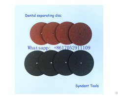 Dental Separating Disc