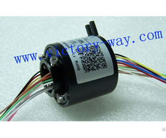 Slip Ring With 25 4mm Through Bores Id12 5mm Od55mm For Packaging Machine
