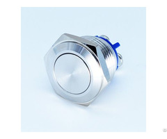 16mm On Off Momentary 3a 250vac Metal Push Button Switches