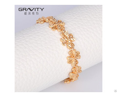 Alibaba Online Wholesale Fashion Gold Plated Bracelet For Ladies