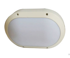 20w Oval Led Wall Light Aluminum Housing Bulkheads 280 185 90mm