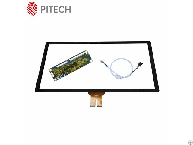 Multitouch Projected Capacitive 43 Inches Industrial Large Touch Screen Panel Kit