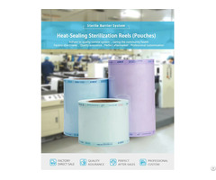 Heat Sealing Sterilization Reel Flat