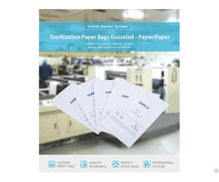Sterilization Paper Bags Gusseted