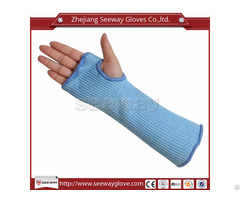 Seeway F517 D Cut Level 5 Arm Sleeves Protection Safety Work Armband With Thumb Slot