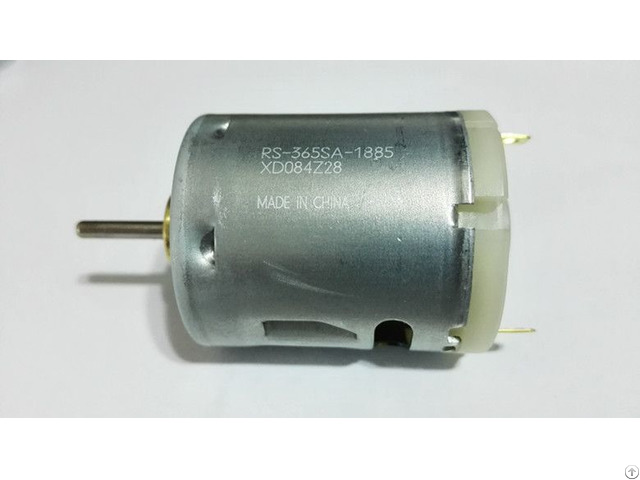 China Manufacturer 15v 17100rpm Dc Electric Motor Rs 365sa 1885 For Hair Dryer