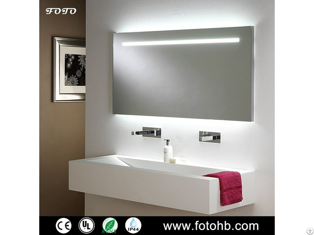 Led Backlit Mirror For Luxury Hotel Bathroom