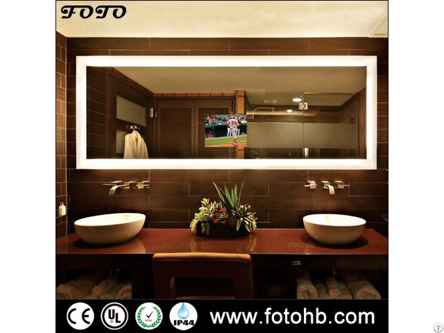 Tv Mirror With Led Backlit