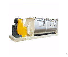 Chemical Powder Horizontal Double Ribbon Mixer Machine Manufacturer