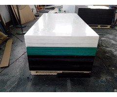 Anti Static And Self Lubricated Engineering Uhmwpe Hdpe Sheet