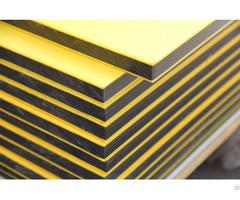 China Supplier Orange Skin Texture Hdpe Sheet