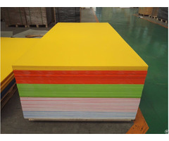 Peel Rough Surface Hdpe Double Color Sheet