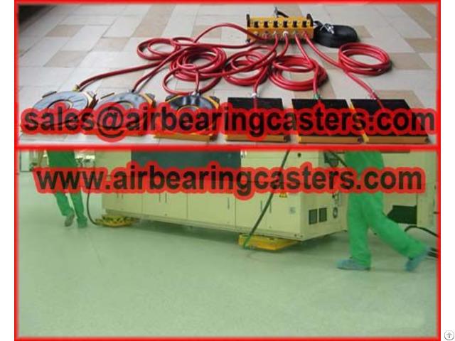 Air Bearing Mover Advantages