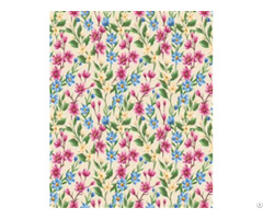 Pvc Flower Used For Bags And Shoes Print Leather