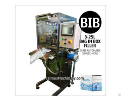 Semi Automatic Bib Filling Machine Water Packaging Equipment Bag In Box Filler