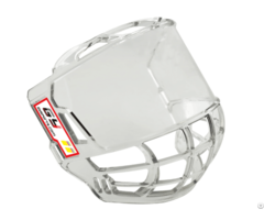Pc Clear Ice Hockey Helmet Mask Visor Free Size Full Face Shield