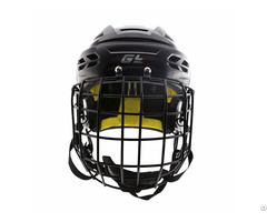 Innovative Ice Hockey Helmet Vented Cooling System With Steel Mask Cage