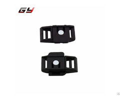 Gy Patent Licensing Magnetic Socket Nylon Buckle Strong For Bag And Sports Helmet