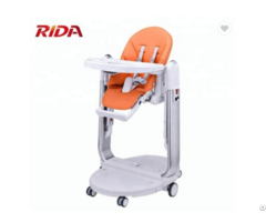 Multi Function Portable Baby Plastic High Chair