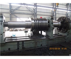 34crni3mo Custom Forged Shaft For Wind Power Station