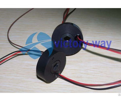Through Bore Slip Ring For Cable Reels Robots Miniature