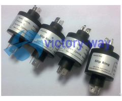 Three Circuits High Current Plug Straightly Slip Ring Manufacture In China
