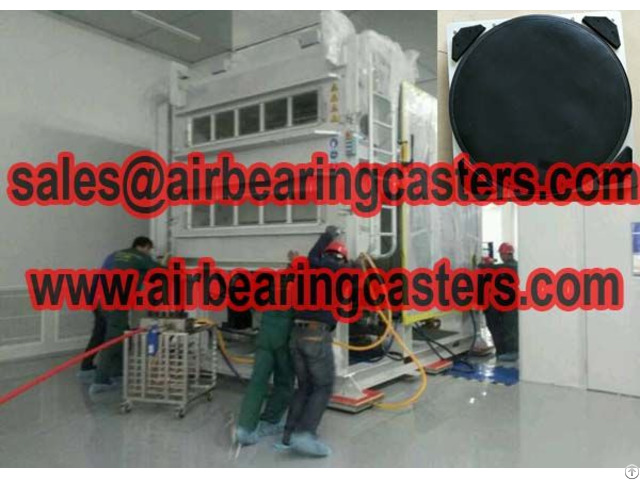 Air Bearing Casters 60 Tons Capacity