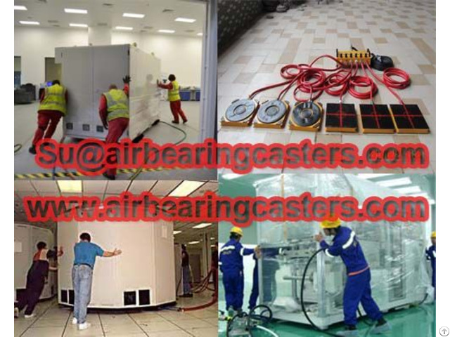 Modular Air Casters Advantages