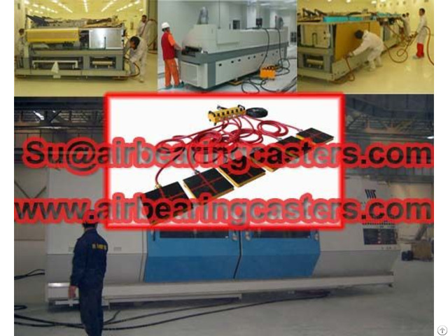 Applications Air Film Transporters