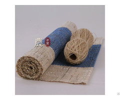 Supply 100% Ramie Hand Woven Ruuners And Placemats