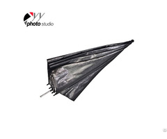 Studio Silver And Black Reflective Photo Umbrella Yu302