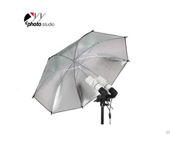 Studio Silver And Black Reflective Photo Umbrella