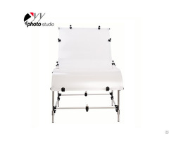 Portable Studio Shooting Table With Frame And Plexiglass Cover Included 100x200cm