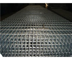 Serrated Anti Slip Forge Welded Steel Grating Panels