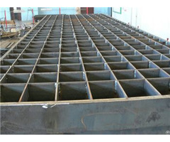 Plain Press Locked Steel Grating Panels