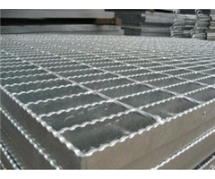 Hot Dip Galvanized After Sand Blasting Flooring Gratings For Steel Structural Platform
