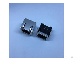 Te 406549 5 Yku 8669nl Through Hole Rj45 Jack Modular Connector 8p8c