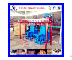 Cotton Stalk Briquette Machine