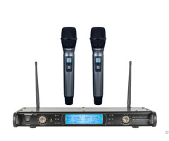 W 300 Uhf True Diversity Tone Key Wireless Handheld Microphones