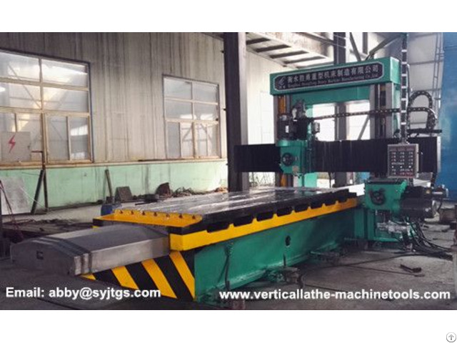 Cnc Gantry Type Milling Machine
