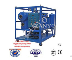 Zyd I 3000l H Double Stage Vacuum Insulation Oil Purifier