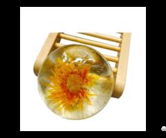 80g Round Transparent Plant Chrysanthemum Essence Amino Acid Soap Bsj Ajs 8