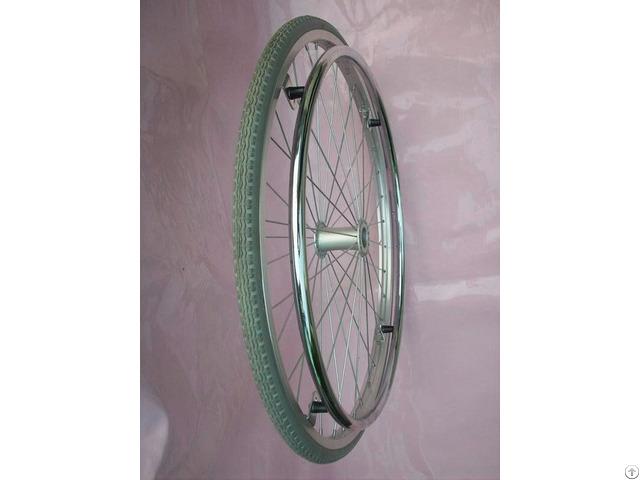 Wheelchair Pu Solid Tire Wheel